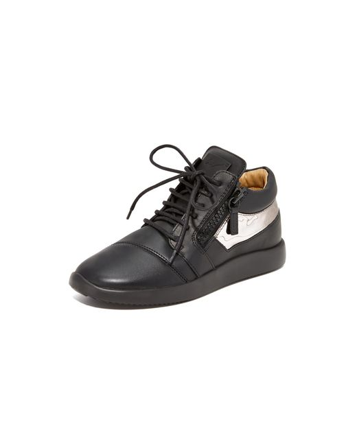 Giuseppe Zanotti   Black Singlesc Sneakers   Lyst