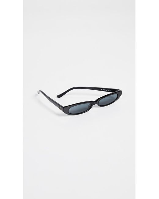 roberi and fraud frances sunglasses in black save Infrared Oakley Racing Jacket roberi and fraud black frances sunglasses lyst