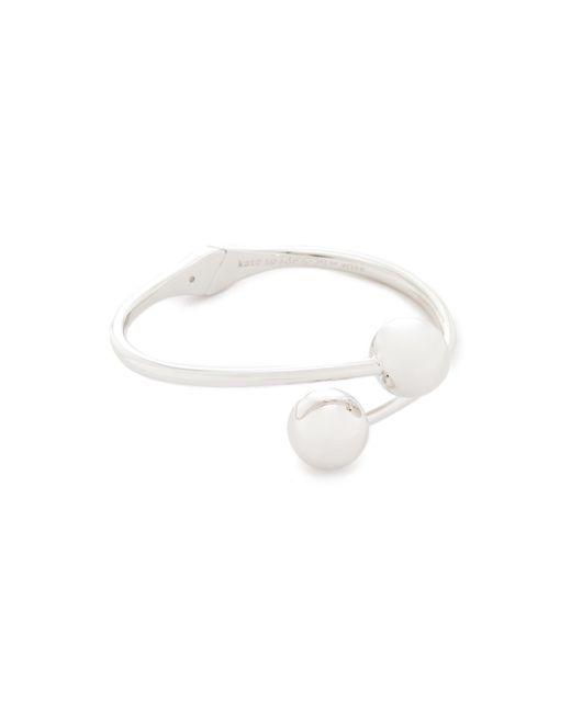 Kate Spade | Metallic Bauble Cuff Bracelet | Lyst