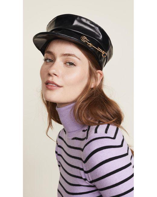 Lyst - Gigi Burris Millinery Georgie Hat in Black - Save 60% fc691706e9f9