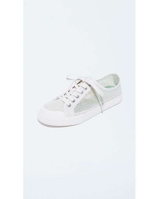 Tretorn - White Tournament Net Sneakers - Lyst