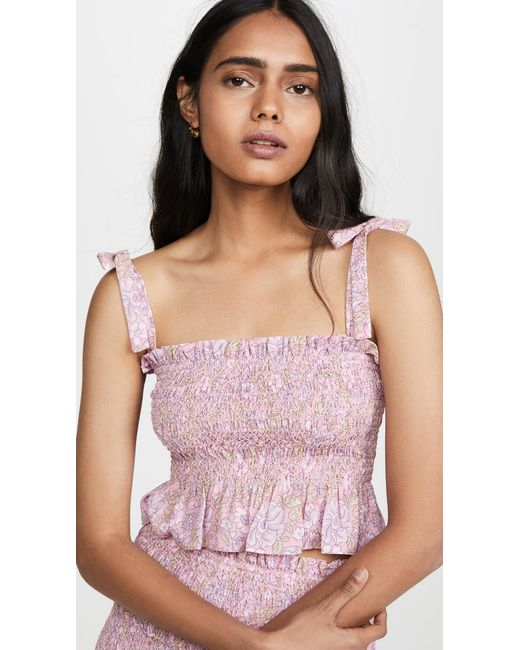 Likely Pink Riviera Top