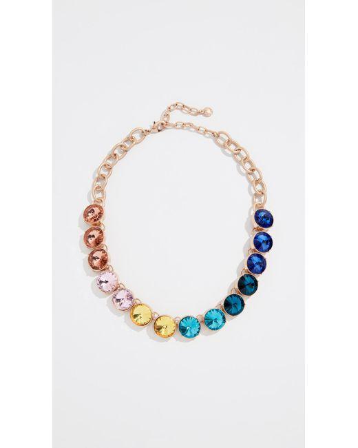 BaubleBar - Multicolor Crystal Strand Necklace - Lyst