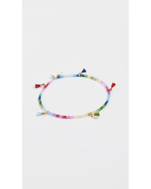 Shashi - Multicolor Lilu Delica Bracelet - Lyst