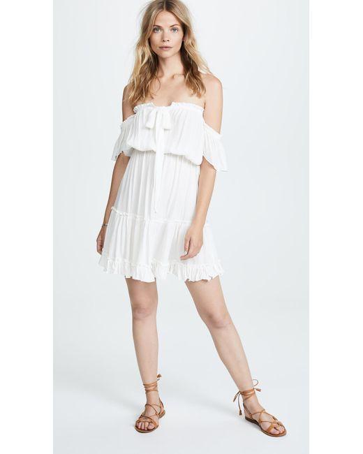 Tiare Hawaii - White Ella Dress - Lyst