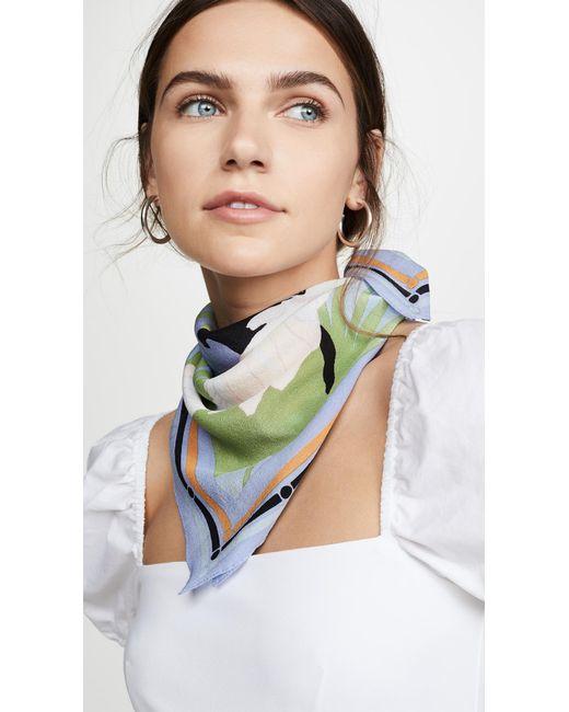 Madewell Multicolor Silk Bandana