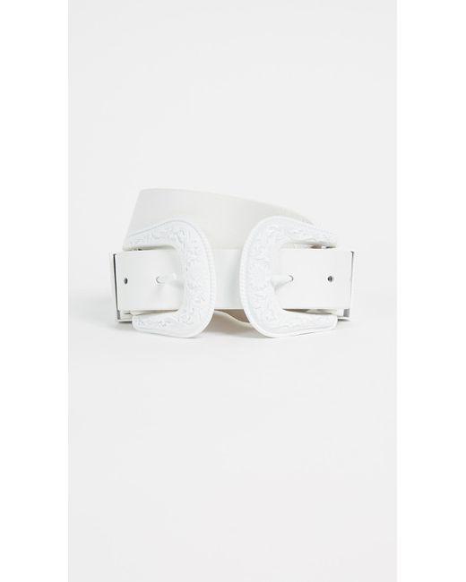 B-Low The Belt - White Bri Bri Belt - Lyst