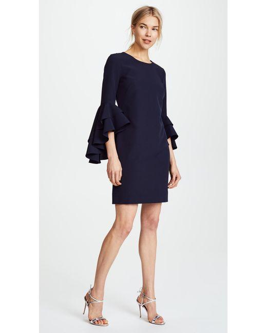 MILLY | Blue Italian Cady June Dress | Lyst