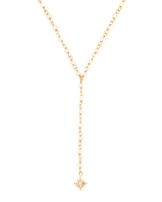 Jacquie Aiche | Metallic Pave Shining Star Beaded Rosary | Lyst