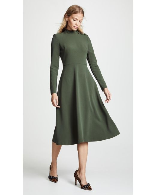 b71962822236 Black Halo Antonia Dress in Green - Save 60% - Lyst