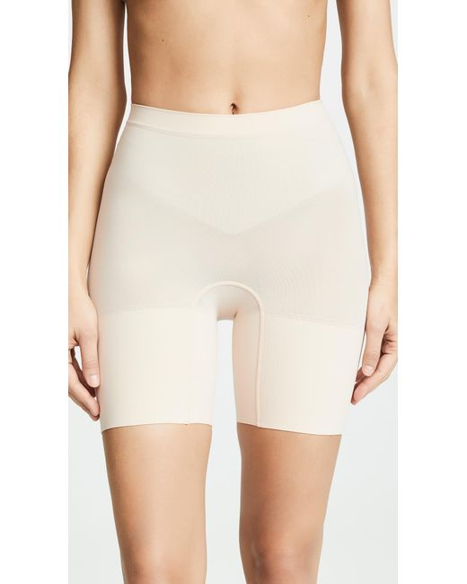 Spanx - Pink Power Shorts - Lyst