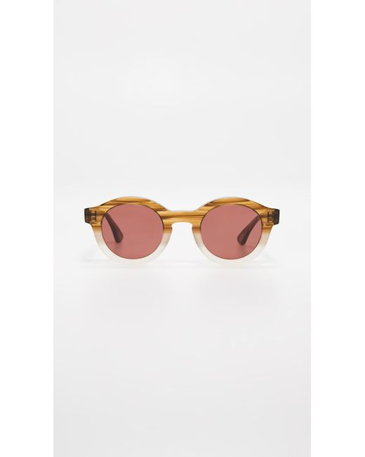 b0b8009584 Thierry Lasry - Brown Olympy 901 Sunglasses - Lyst ...
