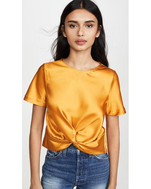 d.RA Orange Mia Top