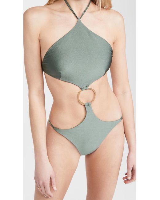 Cult Gaia Multicolor Serena Swim One Piece