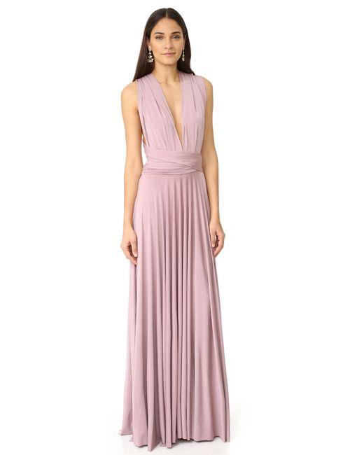 Twobirds | Purple Convertible Maxi Dress | Lyst