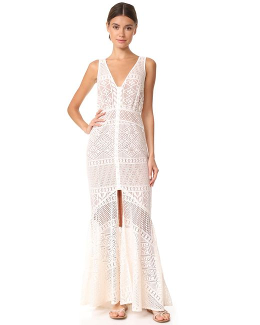We Are Kindred | White Darling Dahlia Maxi Dress | Lyst