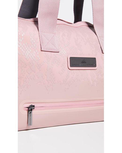3ee60cd58948 ... Adidas By Stella McCartney - Pink Studio Bag Tote - Lyst ...
