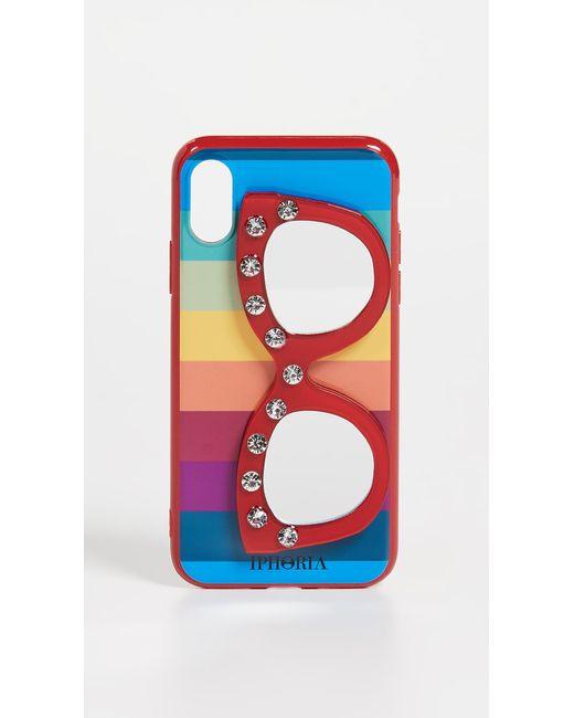 Iphoria Red Sunglasses Mirror Iphone X / Xs Case