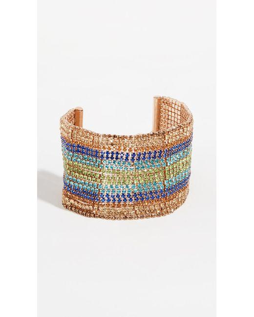 BaubleBar - Blue Crystal Strand Bracelet - Lyst