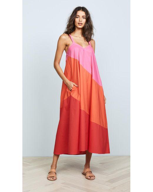 VEDA - Multicolor Fiesta Dress - Lyst