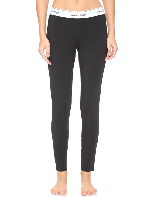 Calvin Klein   Black Modern Pajama Pants   Lyst