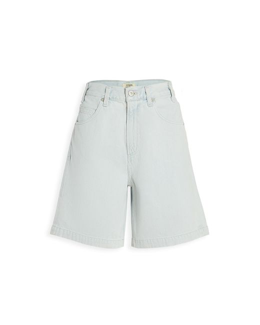Citizens Of Humanity Women's Blue Rosa Culotte Shorts