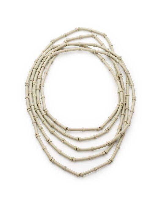 EK Thongprasert | Metallic Bamboo Rubber Necklace | Lyst