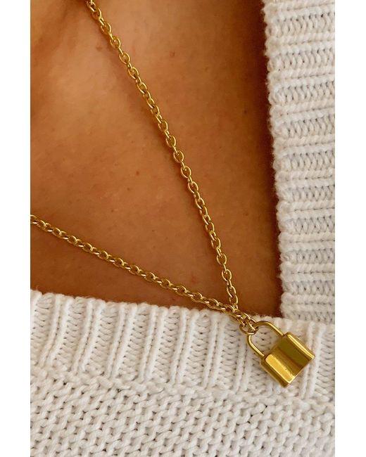 SHOP MĒKO Multicolor Love Lock Necklace