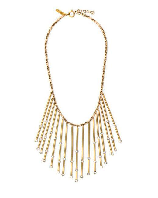 Rachel Zoe | Metallic Maxine Constellation Crystal Necklace | Lyst