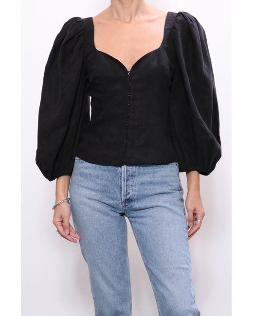 Mara Hoffman Eliana Top In Black