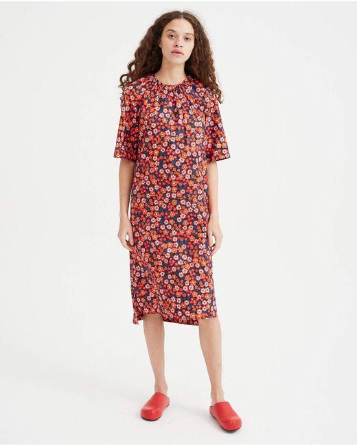 Marni Black Dress - Floral Print