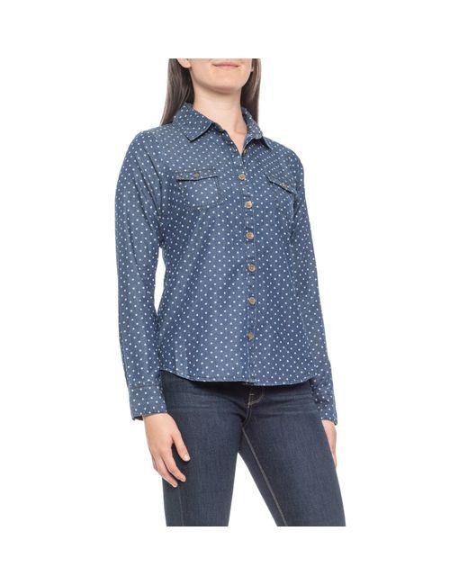Aventura Clothing Blue Emma Shirt