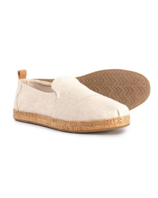 TOMS - Multicolor Deconstructed Alpargata Shoes (for Women) - Lyst
