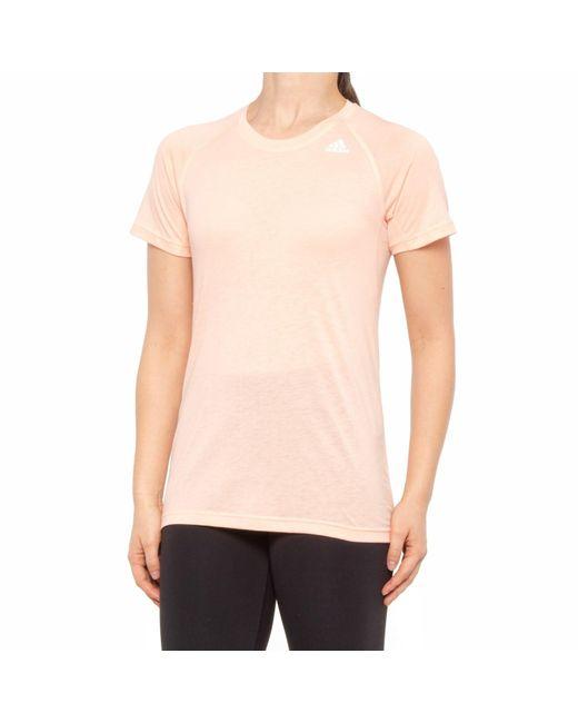 Adidas Pink Prime 2.0 T-shirt