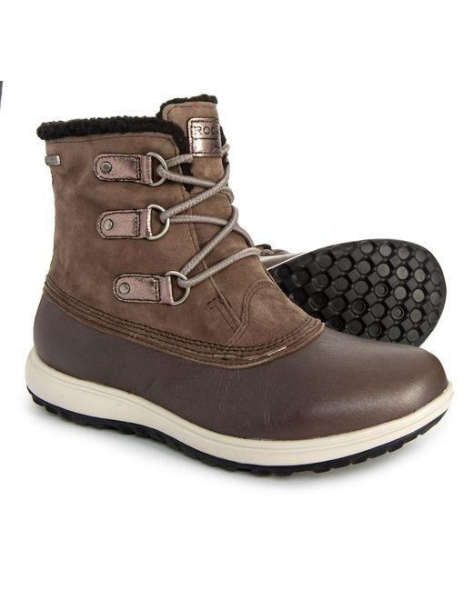 Lyst Rockport Xcs Britt Low Boots In Brown