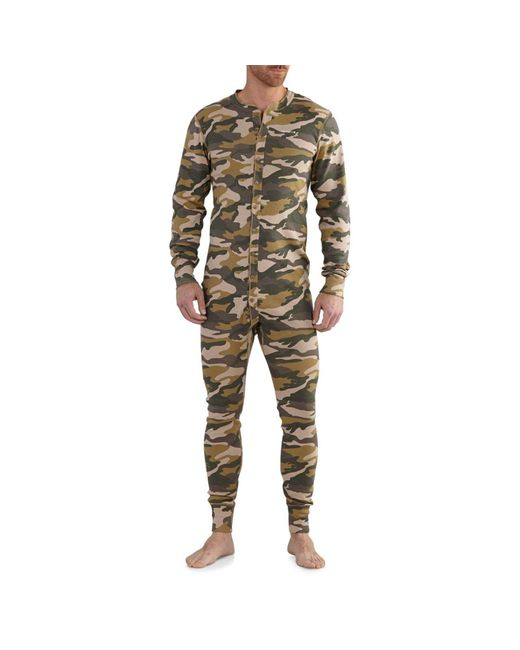 Carhartt Natural K226t Midweight Cotton Union Suit for men