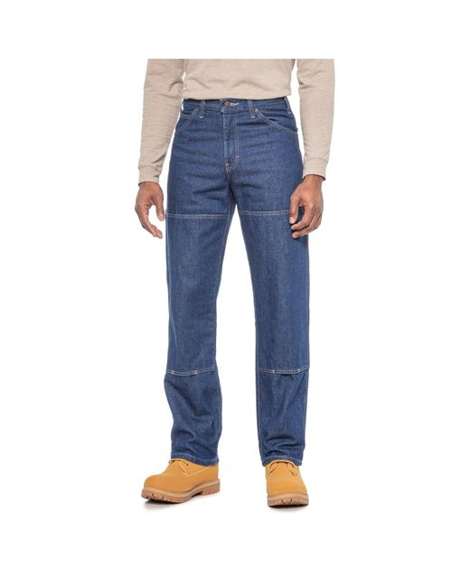 Dickies Blue Workhorse Double-knee Jeans for men