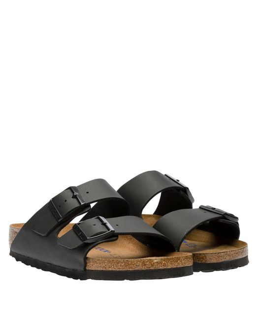 Birkenstock Black Sandalen aus Leder