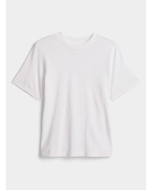 Icône White Organic Cotton Boxy T