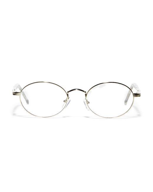Spitfire Black Spectrum Round Sunglasses for men