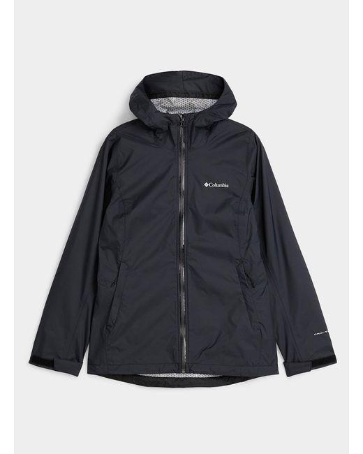 Columbia Black Evapouration Waterproof Jacket