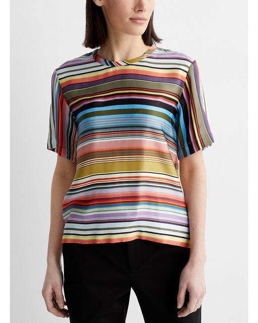 PS by Paul Smith Multicolor Super Stripe Blouse