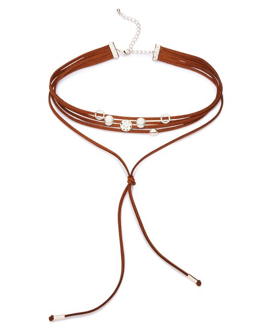 Simply Be - Multicolor Fabric Choker - Lyst