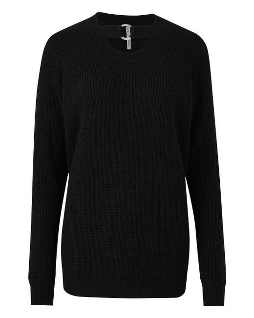 Simply Be - Black O-ring Jumper - Lyst