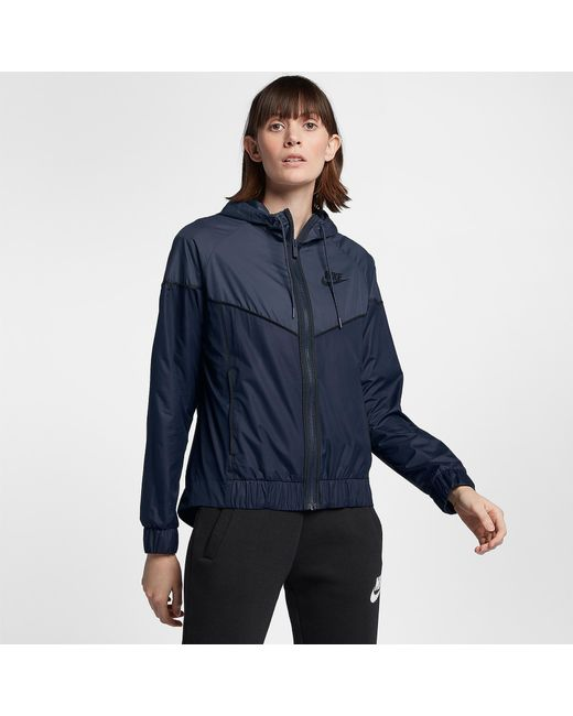 5350bfef0f Lyst - Nike Windrunner Jacket in Blue