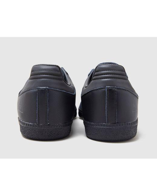 X Pharrell Williams Samba Adidas Originals de color Black