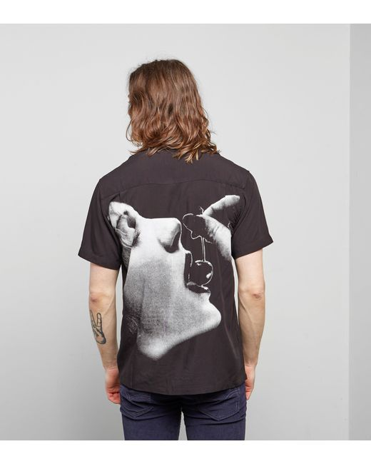 Huf - Black Cherish Shirt for Men - Lyst