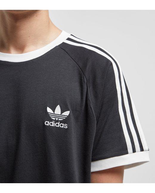 adidas Originals Adicolor California T shirt In Black Cw1202