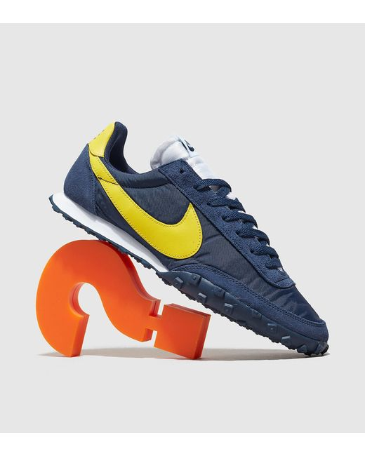 Nike Deportivas Waffle Racer de hombre de color azul