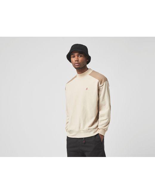 Fleece Mock Sweatshirt Gramicci de hombre de color Natural